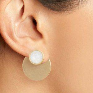 Kate Spade Sunshine Stones EarJackets White NWT
